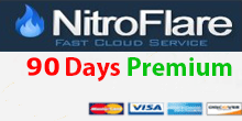 Nitroflare 90 Days Premium Account PayPal